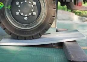 以诺砖机托板丨韧性、抗断能力测试