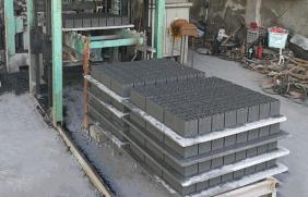 水泥砖托板产品使用图片